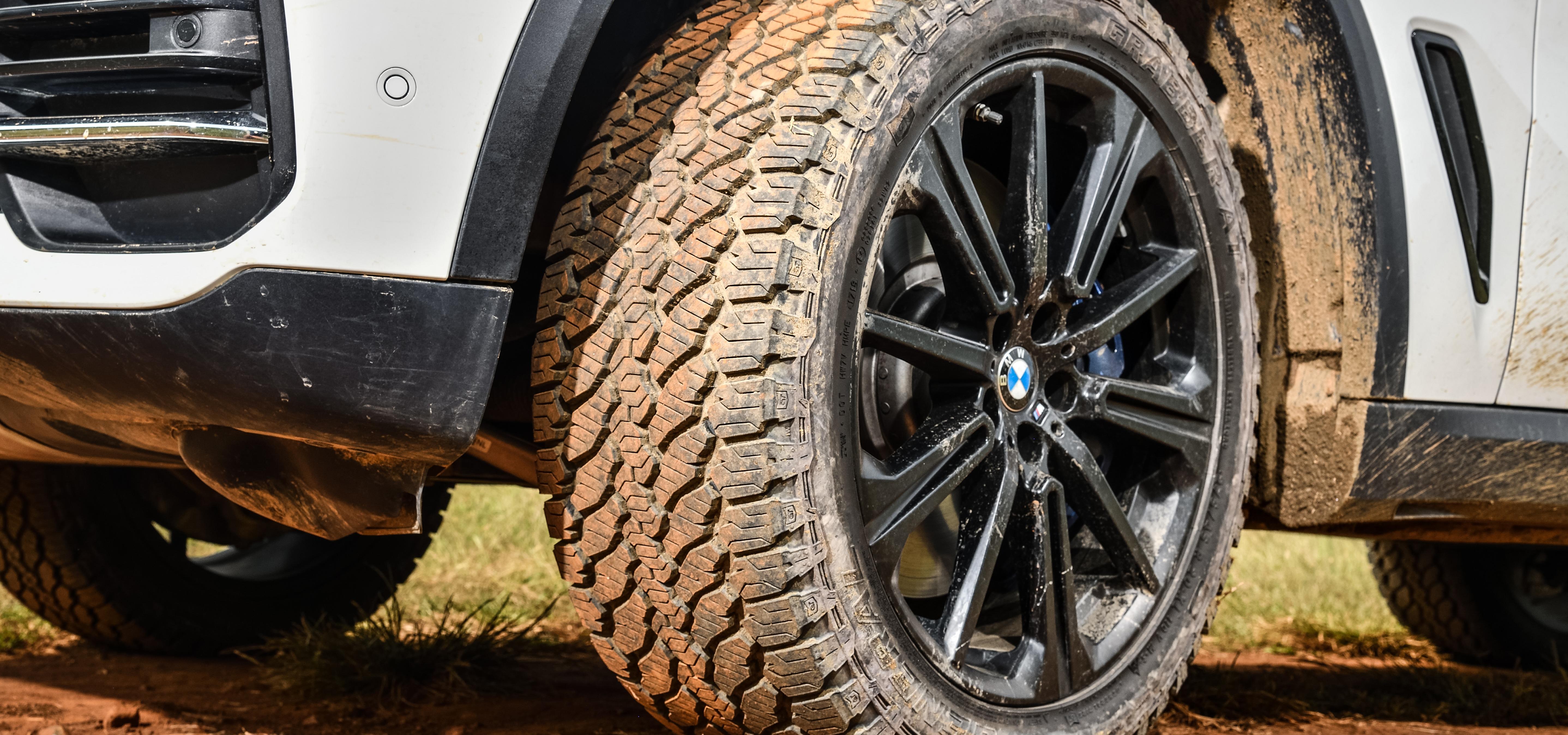 Opona General Tire zalecana do BMW X5