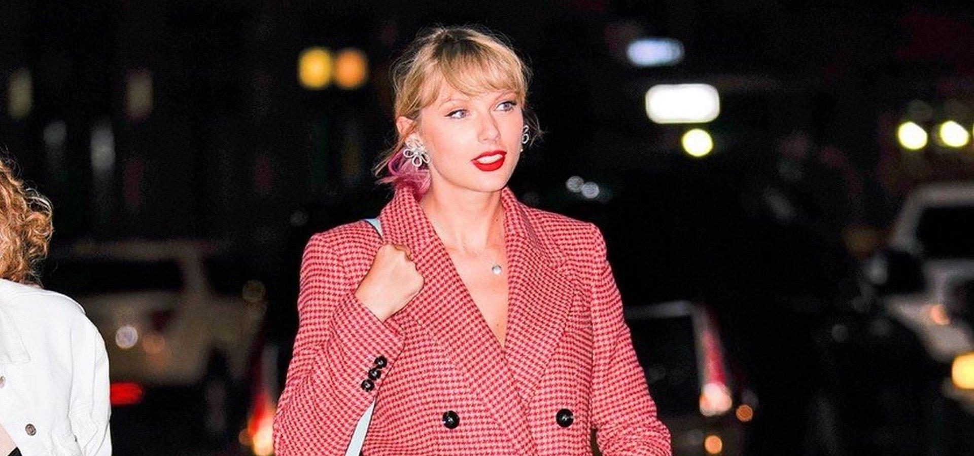 SPOTTED: Taylor Swift w kultowym płaszczu od MANGO!