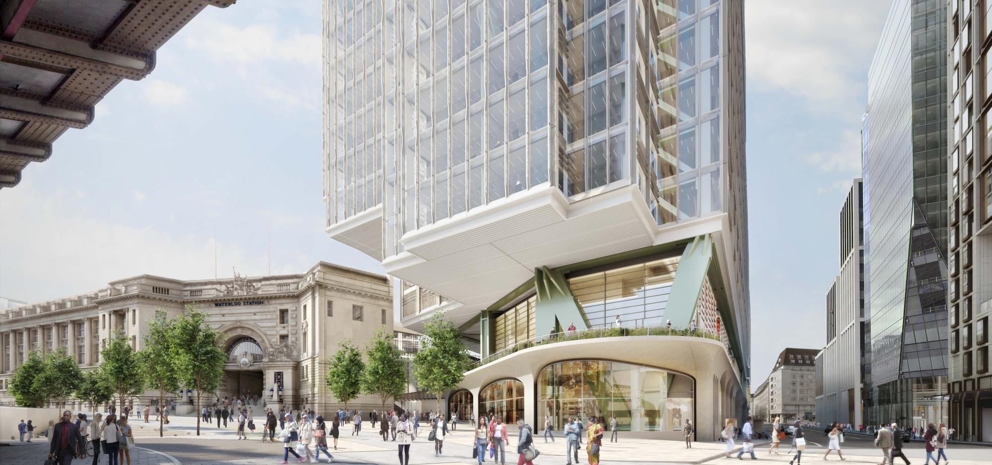 Złożyliśmy wniosek o zgodę na przebudowę Elizabeth House w Londynie