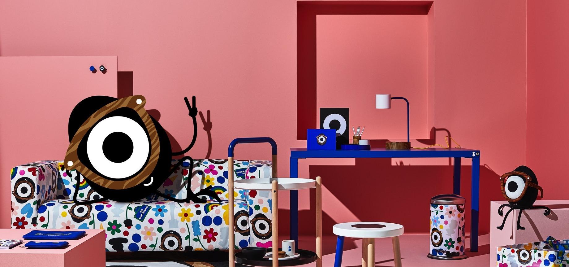 IKEA znów zaskakuje niestandardową współpracą. Kolekcja FÖRNYAD to zabawa w czystej postaci.