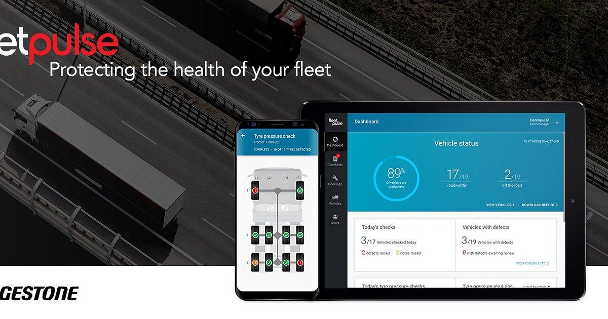 VMLY&R i Bridgestone tworzą FleetPulse - rozwiązanie, które usprawnia proces kontroli stanu technicznego floty