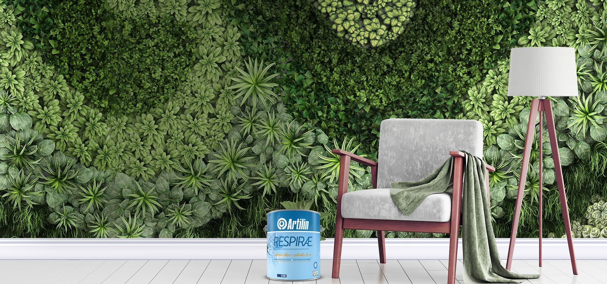 Nova Artilin Respirae purifica o ar e melhora a saúde em espaços interiores