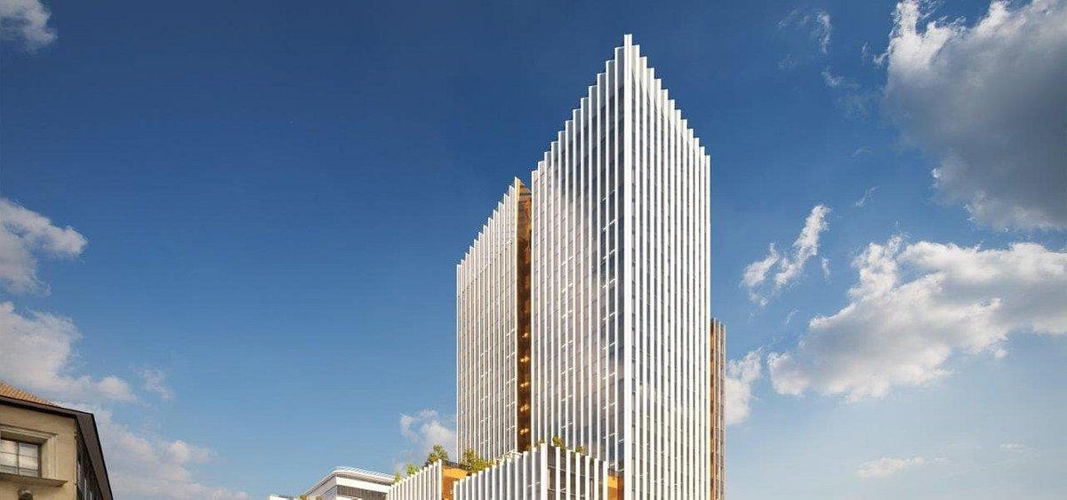 Az Agora Budapest ad otthont a Raiffeisen Bank új székházának