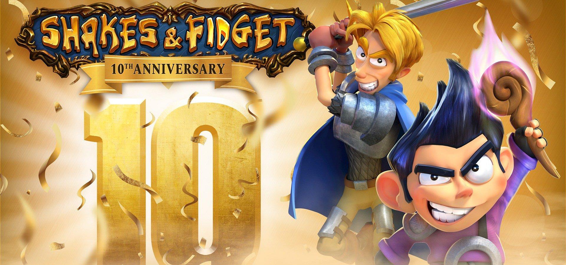 Shakes & Fidget oslavují 10th jubileum