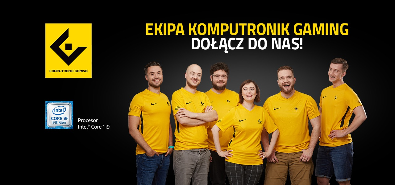 EKIPA KOMPUTRONIK GAMING. PROFESJNALNI PROMOTORZY E-SPORTU