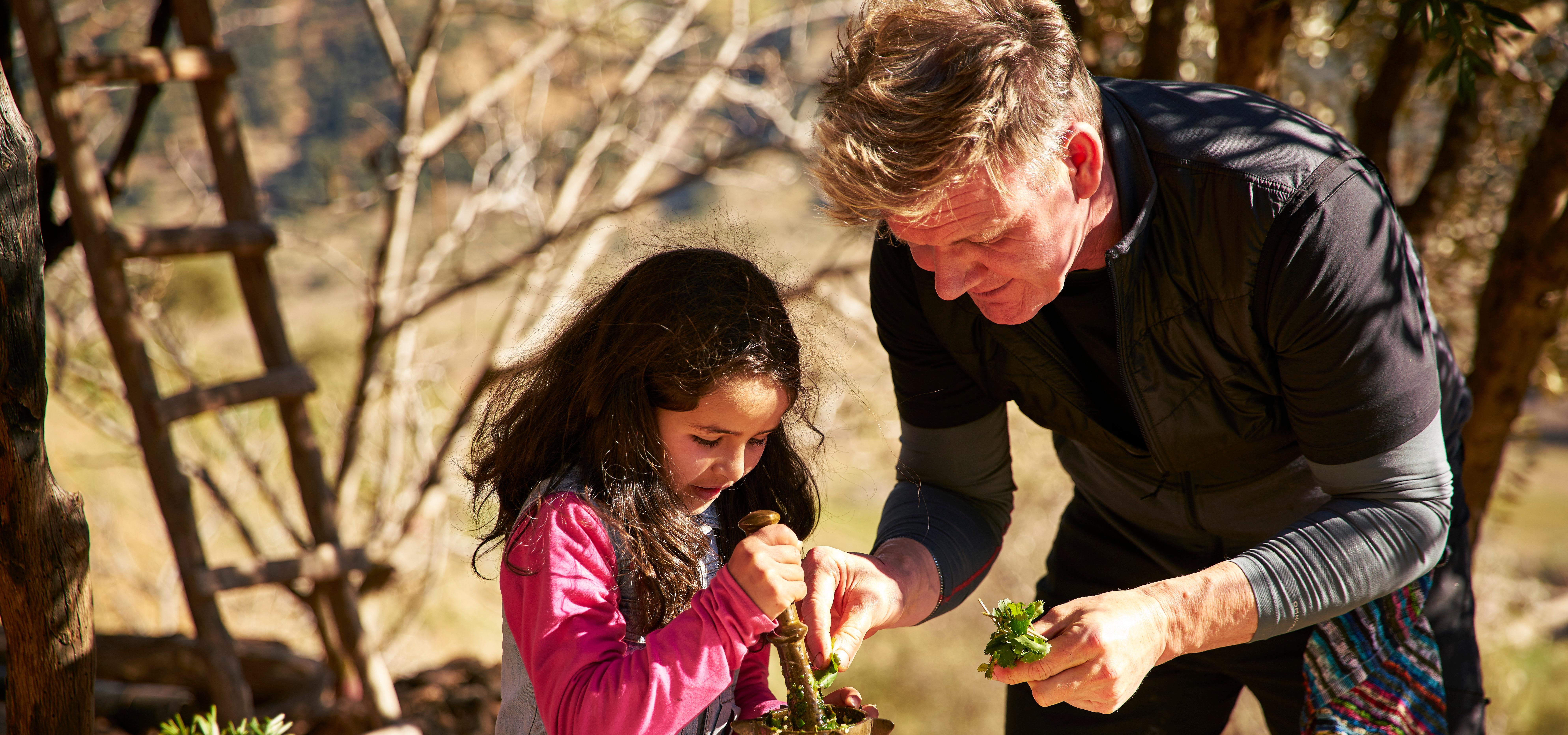 Gordon Ramsay w wakacyjnym menu National Geographic