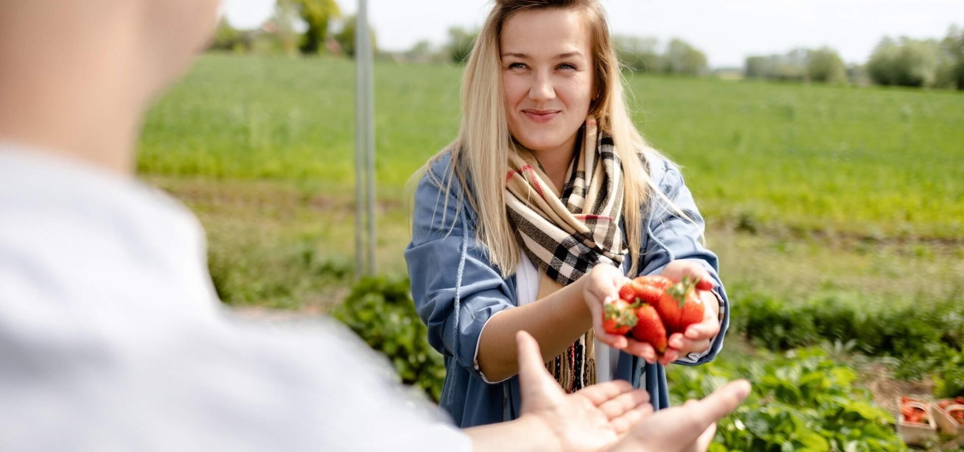 Promocja polskich truskawek