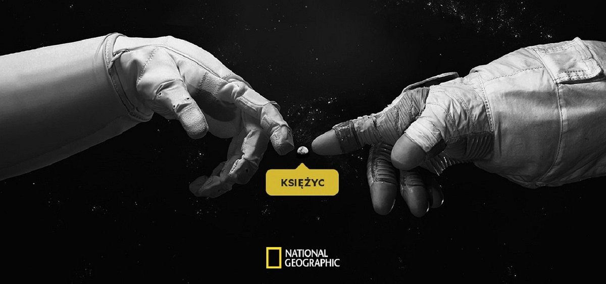 Zamelduj się na Księżycu! Kanał National Geographic z niestandardowymi działaniami na 50. rocznicę pierwszego lądowania człowieka na Księżycu
