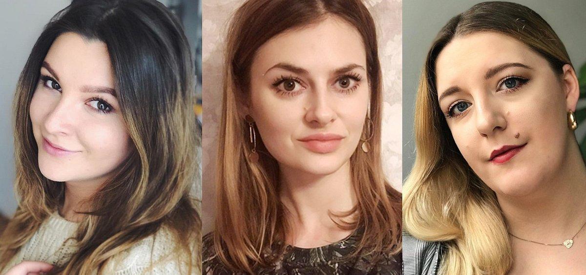 Trzy nowe osoby w zespole Glow by LifeTube - Natalia Stępień, Monika Włodarczyk i Sandra Ledzion