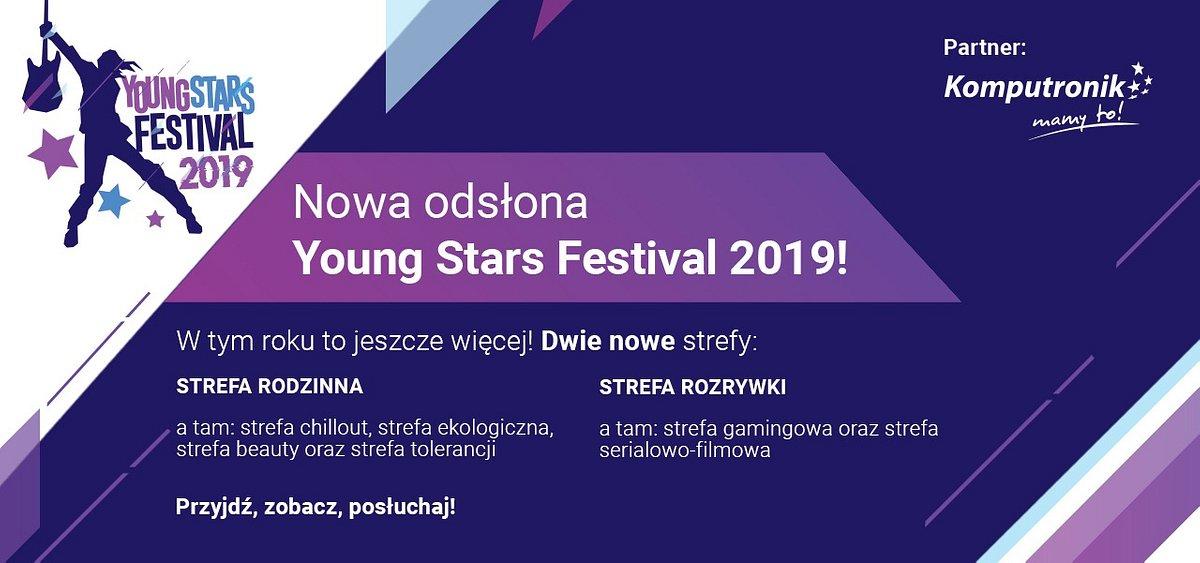 Young Stars Festival ze Strefą Rodzinną!