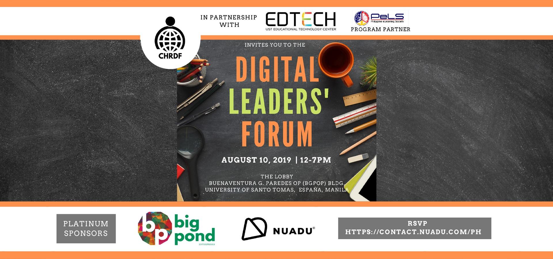 Digital Leaders' Forum, Manila