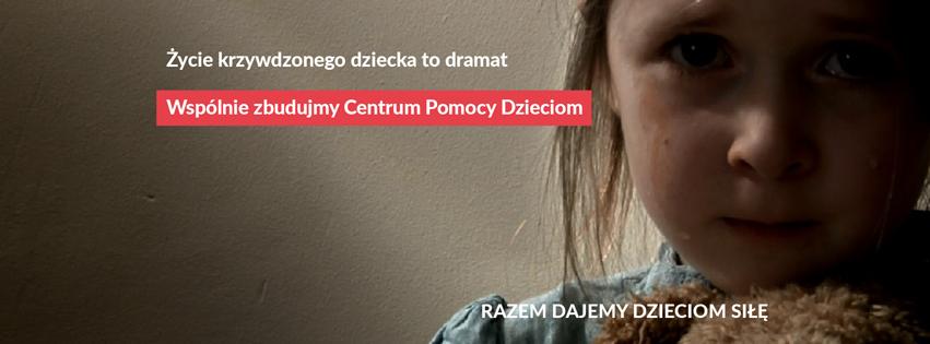 Fundacja Dajemy Dzieciom Siłę chce stworzyć pierwsze w Polsce specjalistyczne Centrum Pomocy Dzieciom, które doświadczyły przemocy i wykorzystywania seksualnego