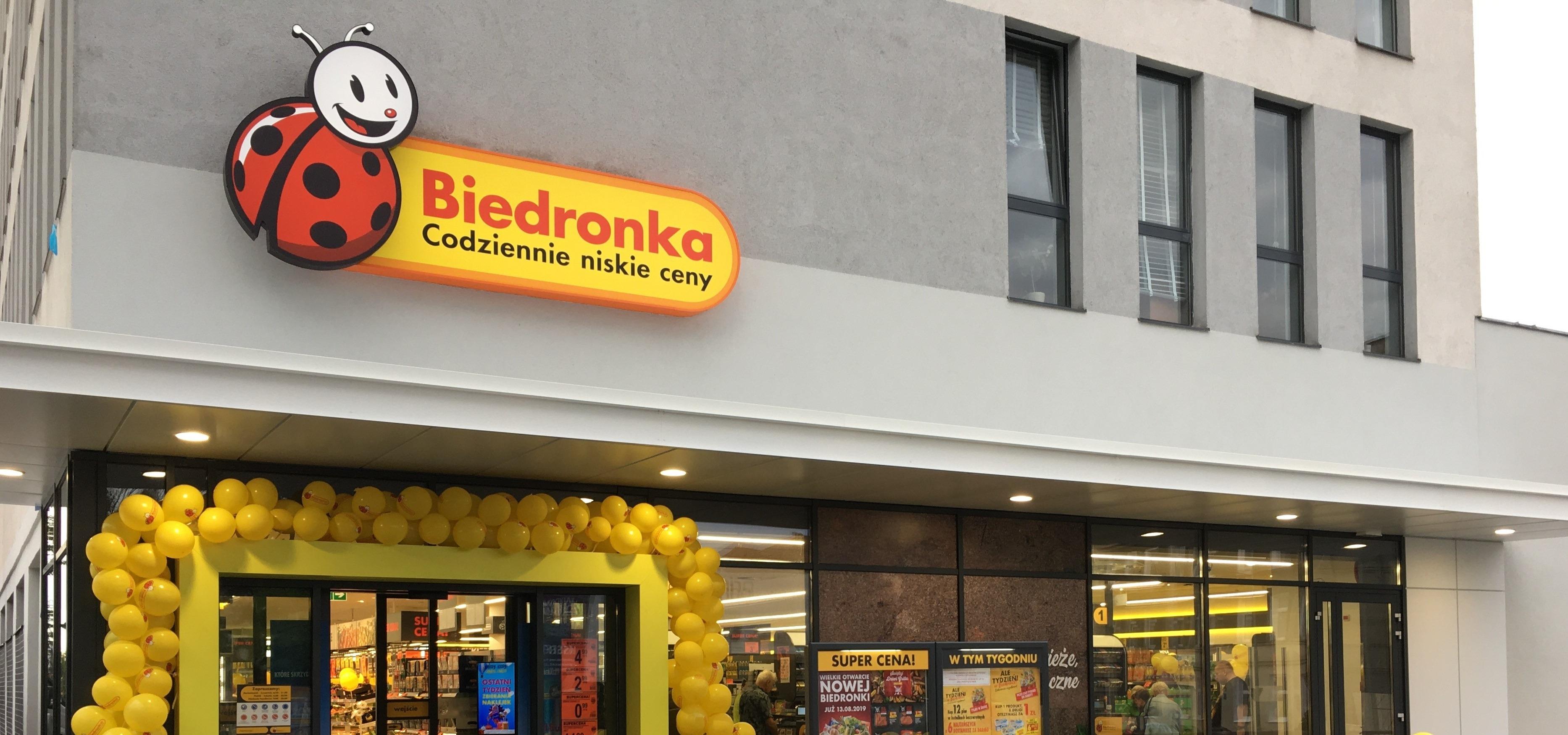 Zajrzyj na kawę i zakupy do Biedronki przy al. Piastów w Szczecinie