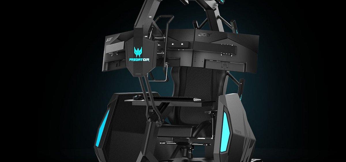Acer wprowadza na rynek smukły i lekki notebook gamingowy Predator Triton 300 oraz nowy fotel dla graczy Predator Thronos Air