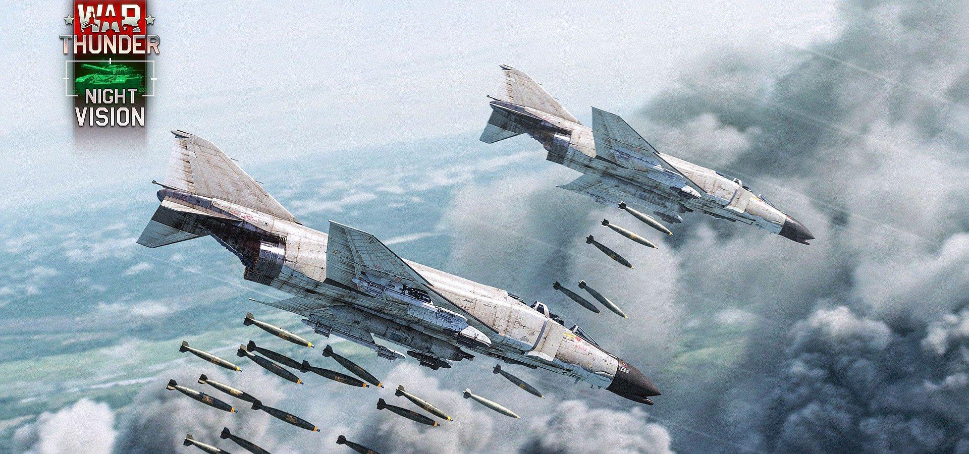 Nejnovější aktualizace War Thunder přináší noktovizi a termovizi, legendární proudové letouny z války ve Vietnamu a další