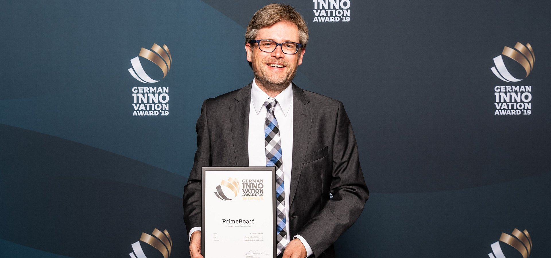 Płyta PrimeBoard nagrodzona German Innovation Award 2019