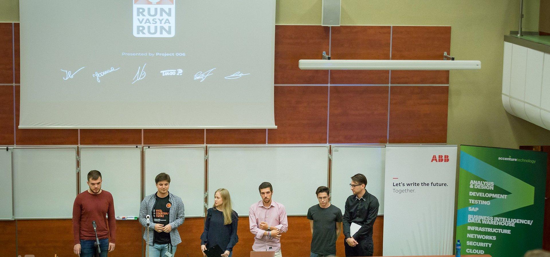 Studenci z Europy prezentują aplikacje o Łodzi