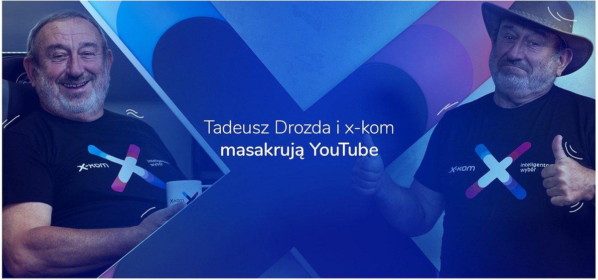 Tadeusz Drozda i x-kom masakrują YouTube