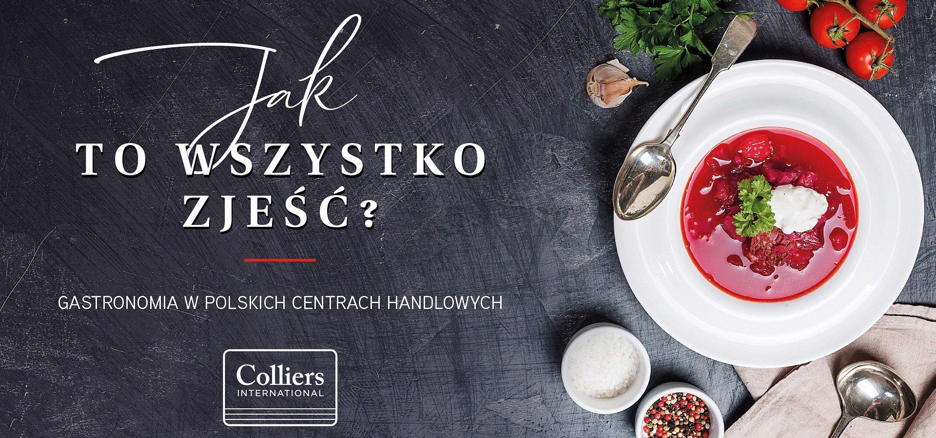 Nowe smaki food courtów, czyli kondycja sektora gastronomicznego w polskich centrach handlowych