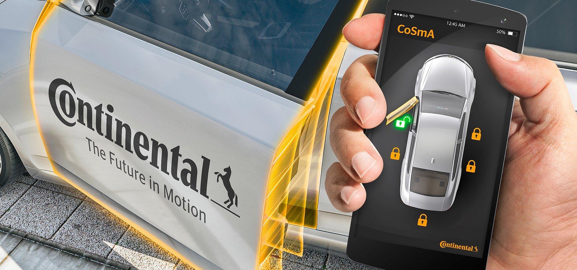 Honda e otwierana smartfonem dzięki technologii Continental