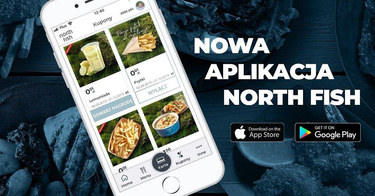 North Fish z nową aplikacją mobilną