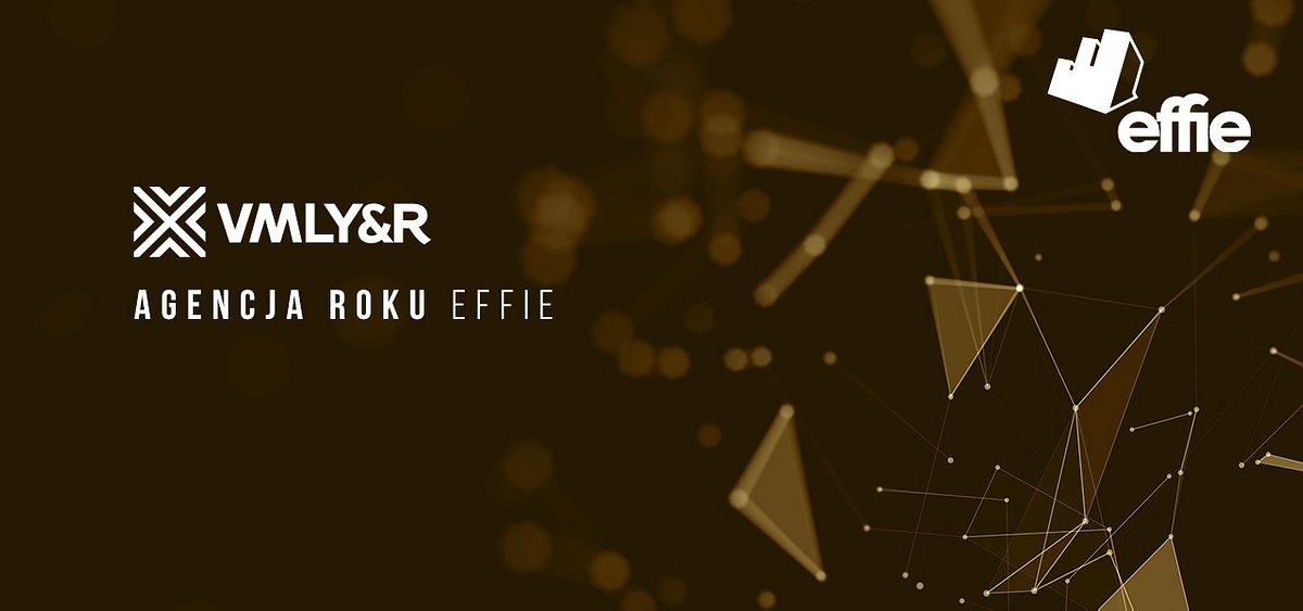 VMLY&R Poland Agencją Roku Effie Awards 2019