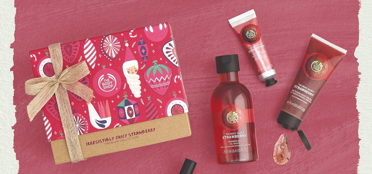 Brak pomysłu na prezent? Zainspiruj się świątecznymi propozycjami od The Body Shop!