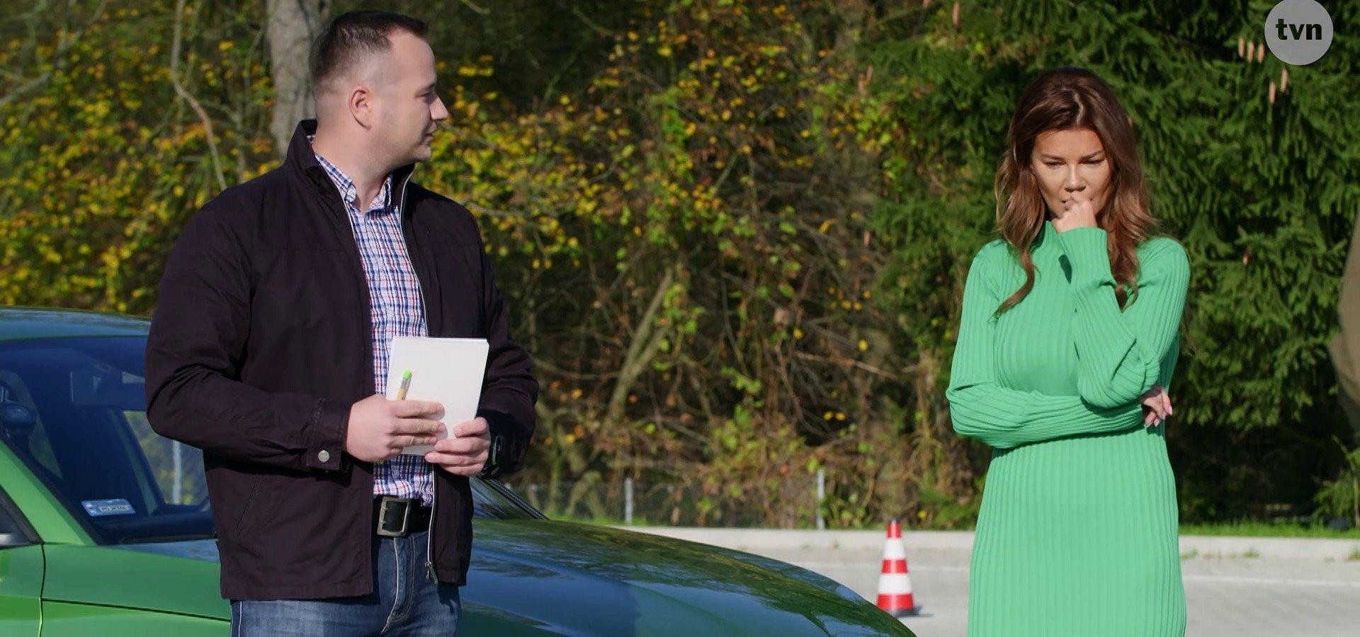 My Way: Edyta Górniak szlifuje swoje umiejętności kierowcy.