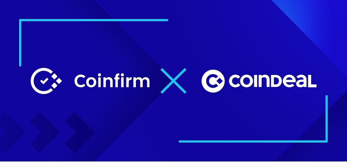Coindeal uses Coinfirm's AMLT Token Network to become first cryptocurrency exchange to provide reporting tools to users