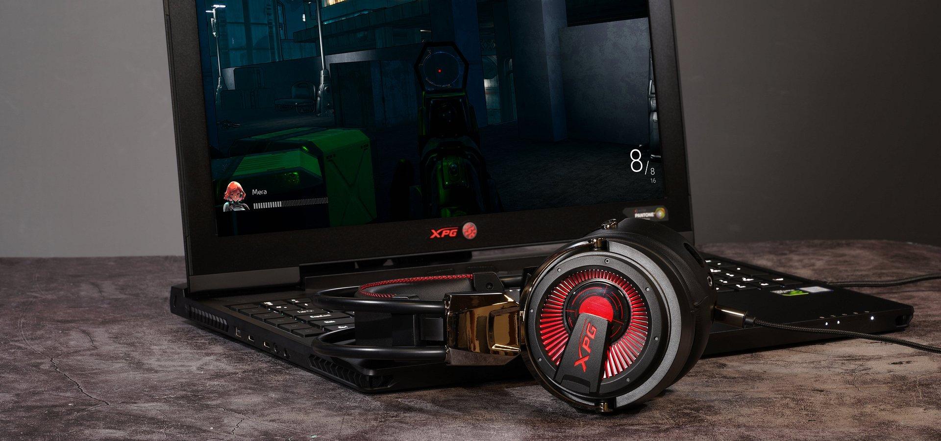 XPG Precog - pierwsze na świecie słuchawki gamingowe z dwoma rodzajami przetworników