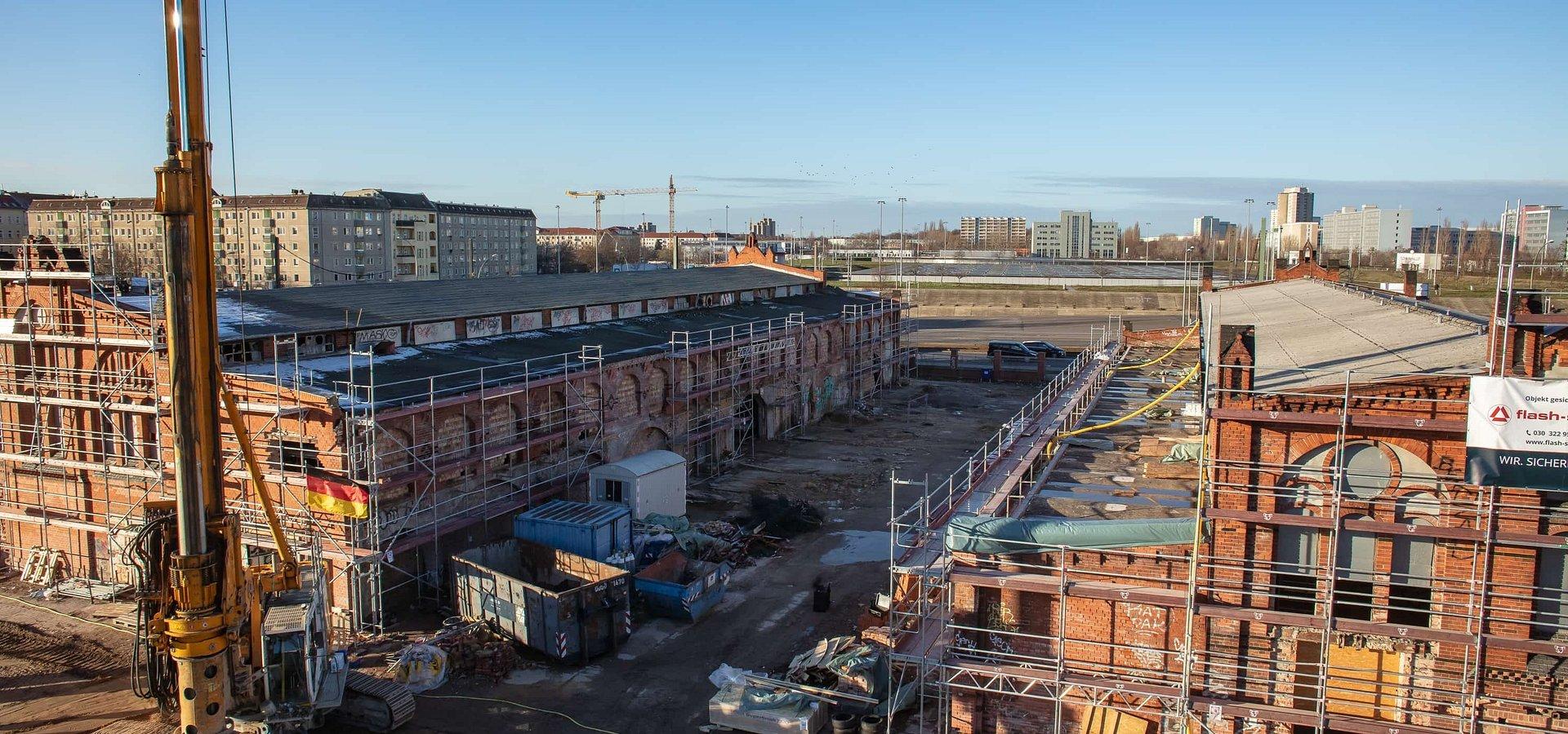 HB Reavis začal so stavebnými prácami v Berlíne