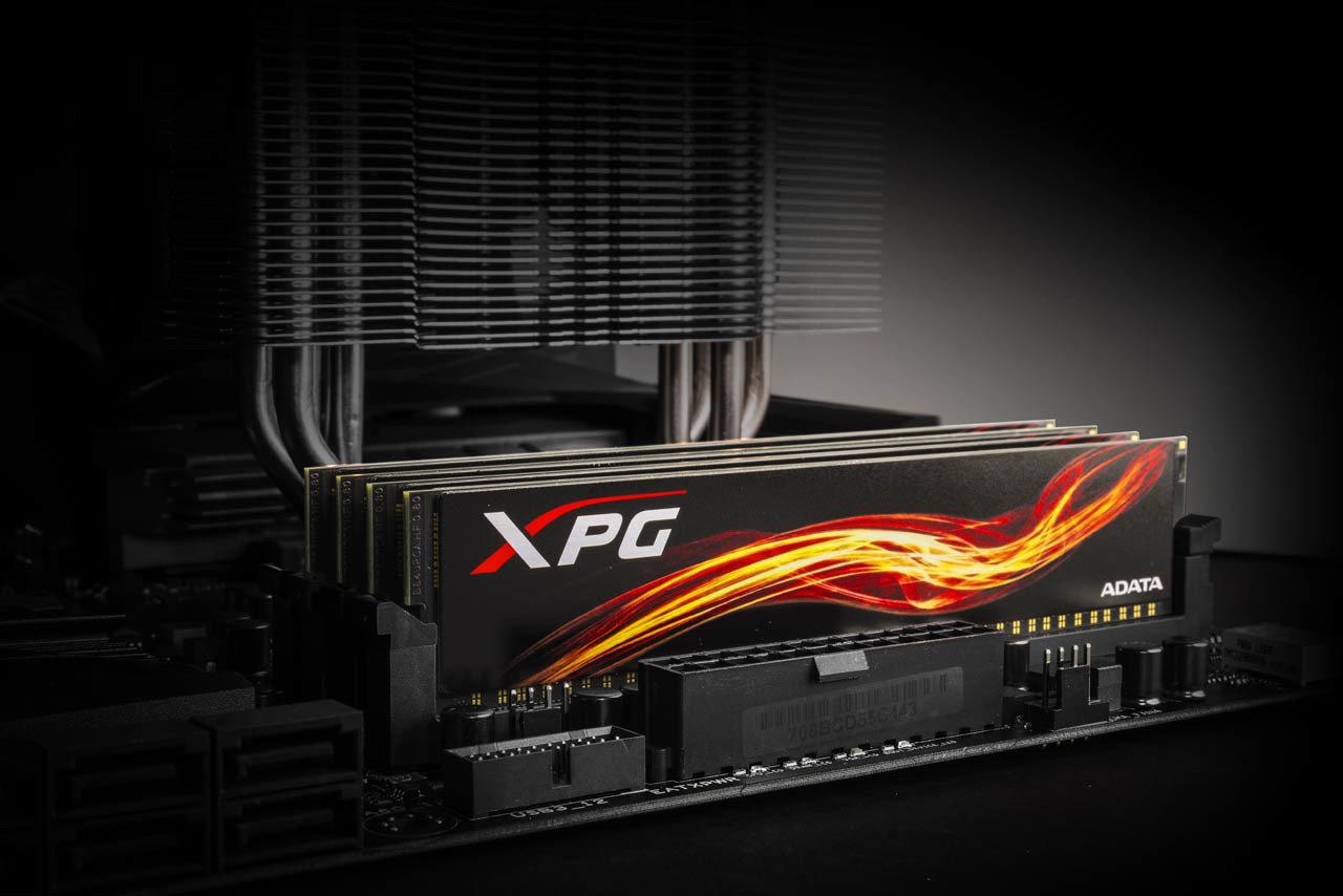 XPG Flame: nowe pamięci DDR4 dla graczy już dostępne w Polsce