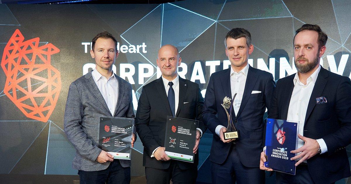 PKO Bank Polski nagrodzony w konkursie The Heart Corporate Innovation Awards 2019