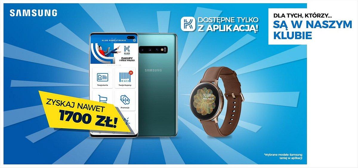 Smartfony i smartwache Samsung w najniższych cenach na rynku!