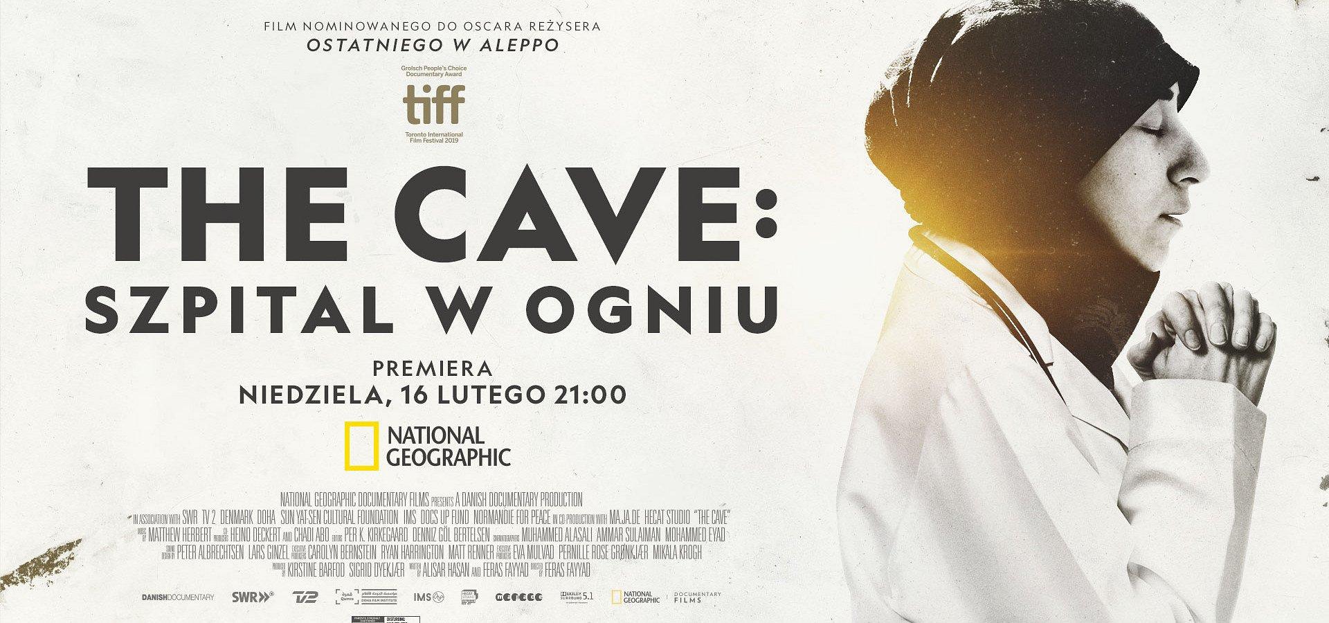 """Nominowany do Oscara dokument """"The Cave: szpital w ogniu"""" już w najbliższą niedzielę na kanale National Geographic"""