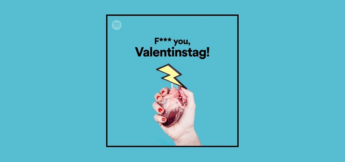 Love Pop oder F*** you, Valentinstag! – Die Spotify Playlists zum Tag der Liebe