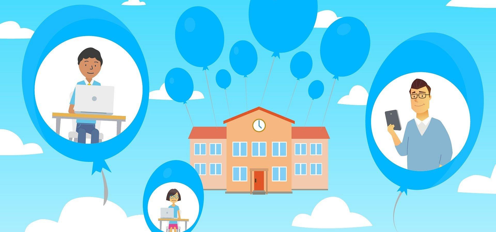 Học trực tuyến chính là giải pháp cho các trường học trong thời kỳ khó khăn