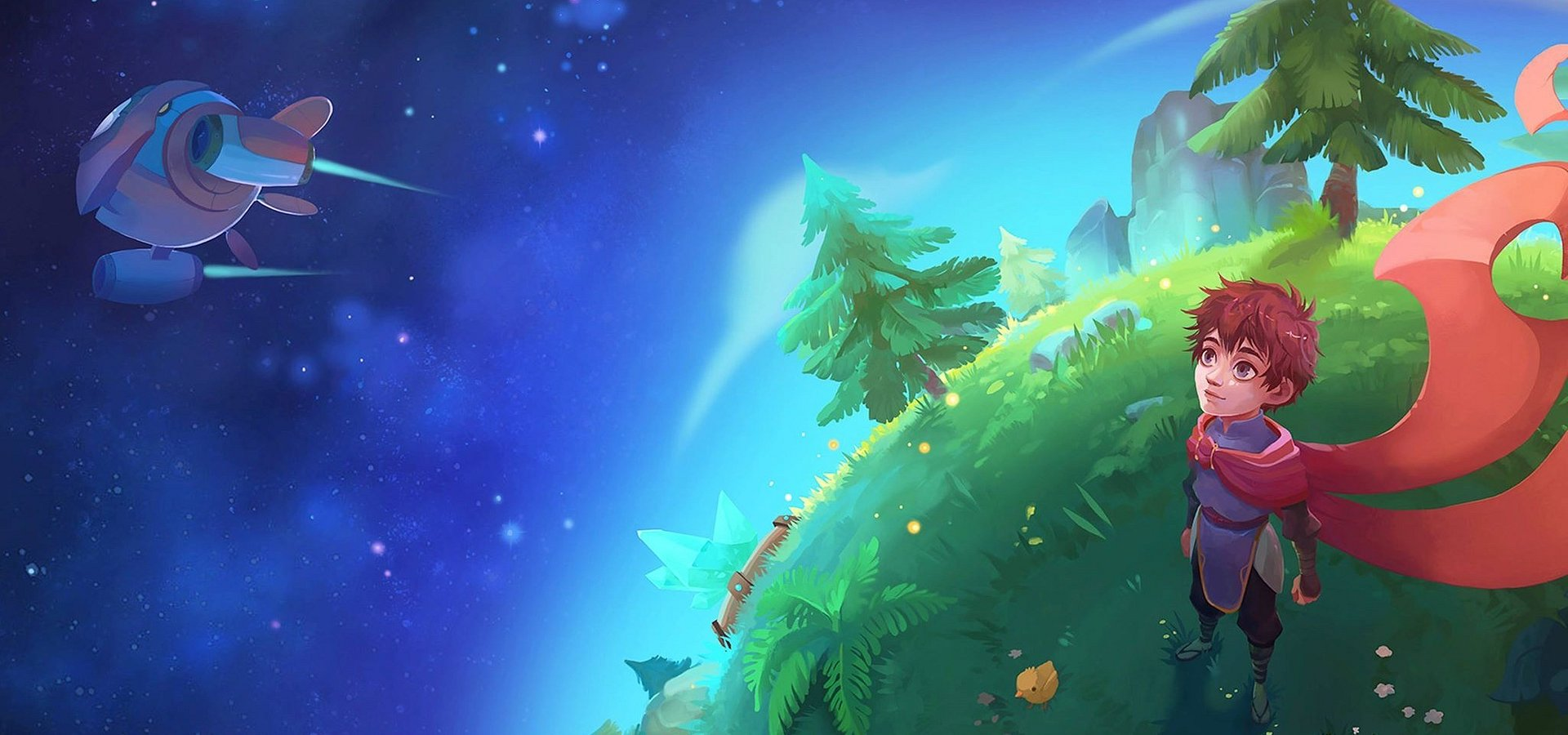 To support the fight against Covid-19, the game Deiland will be free on Steam