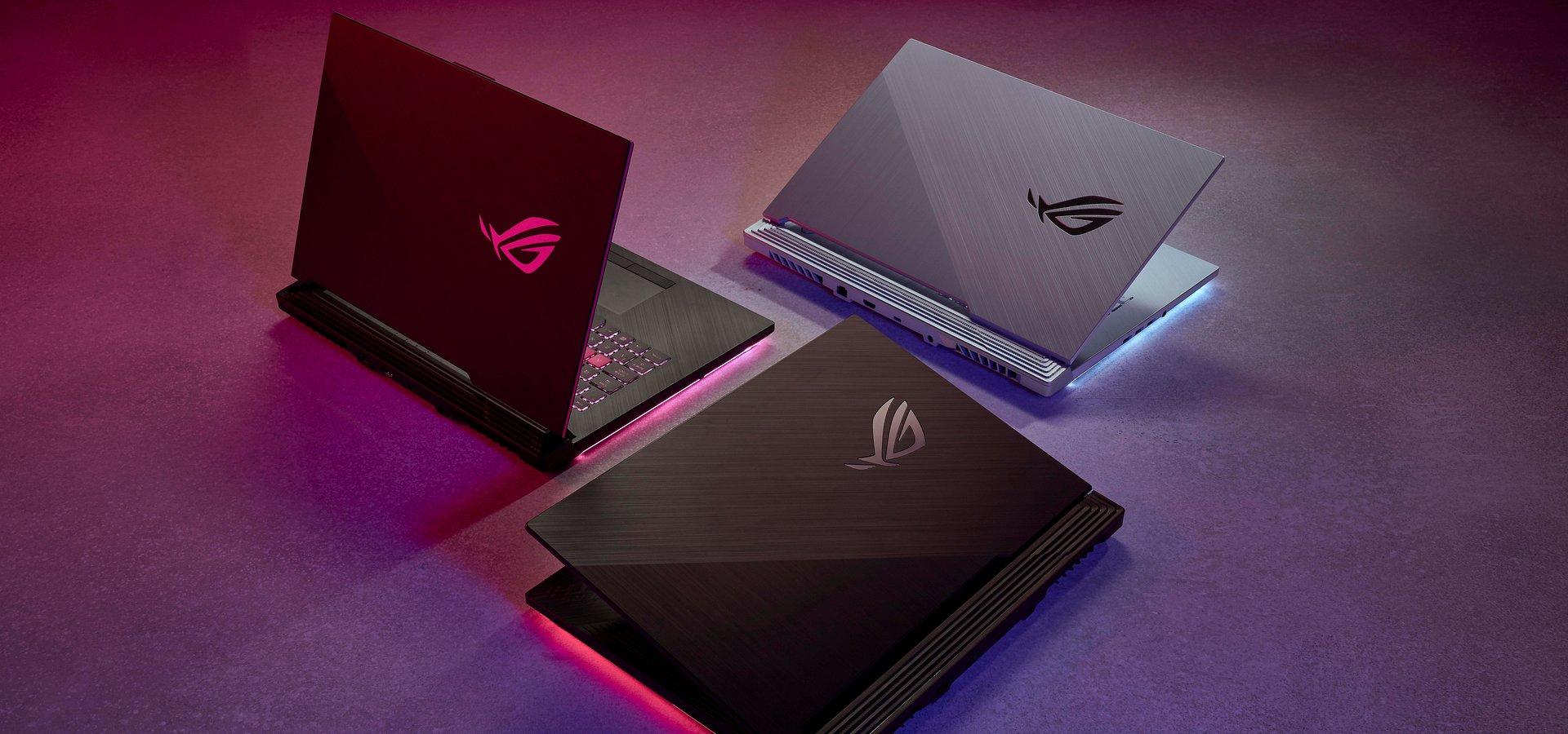 ROG prezentuje elektryzujące laptopy gamingowe i urządzenia peryferyjne z serii Electro Punk