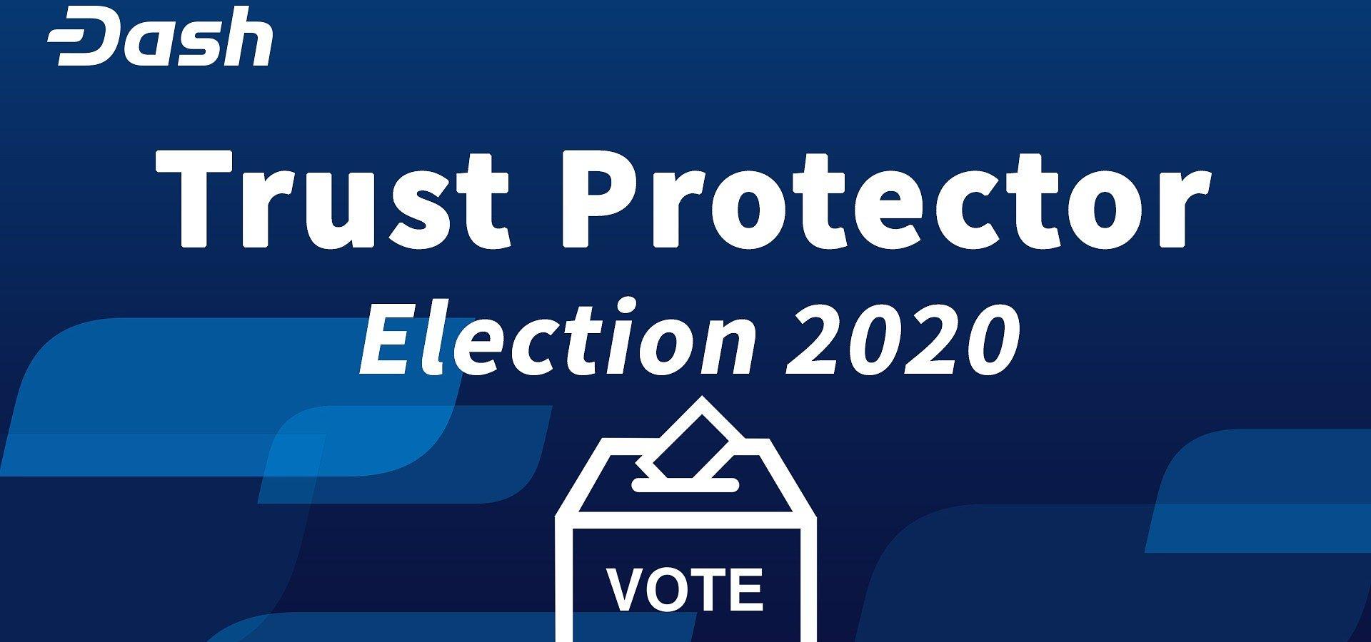 Dash Trust Protectors Election 2020