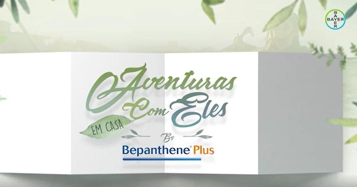 FOX e Bepanthene Plus sugerem atividades familiares para fazer em casa