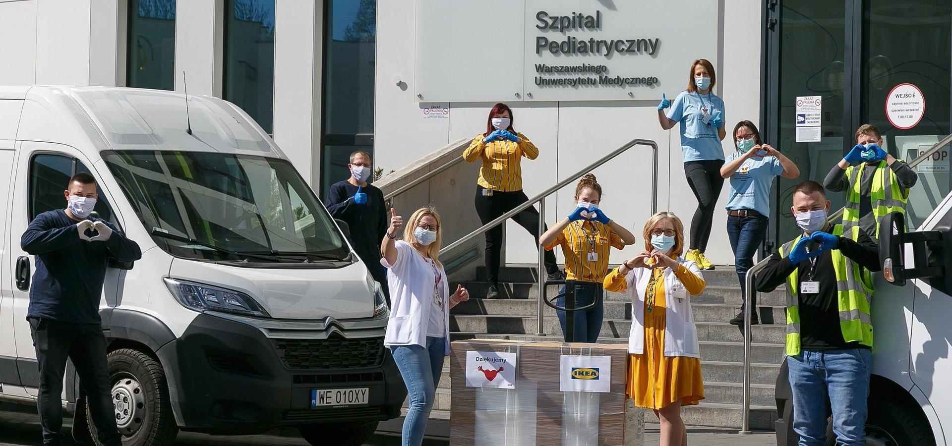 #PomagamyRazem! Warszawskie sklepy IKEA wspierają organizacje i instytucje udzielające potrzebującym bezpośredniej pomocy w czasie pandemii
