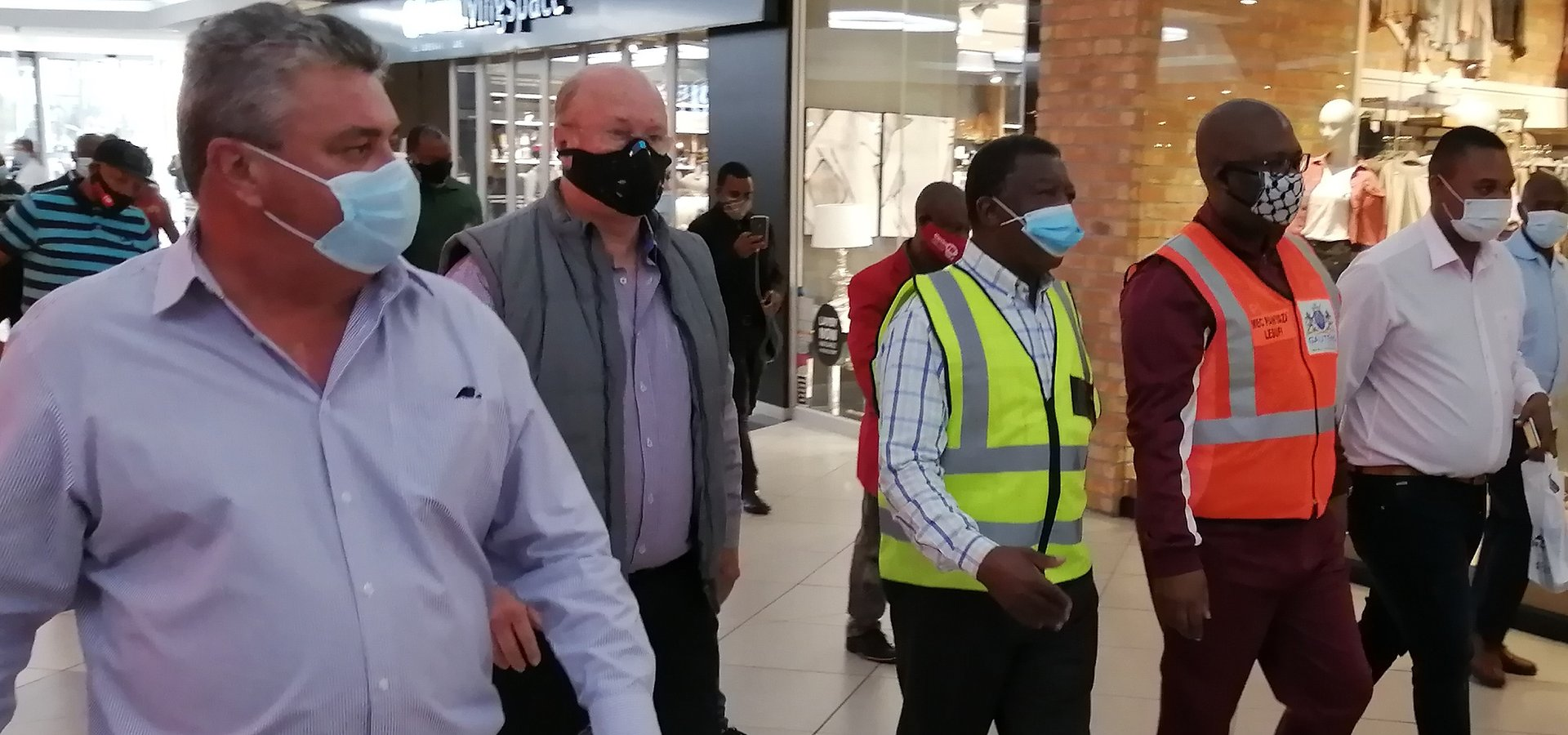 MEC's visit confirms that Vaal Mall has gone the extra mile for safety