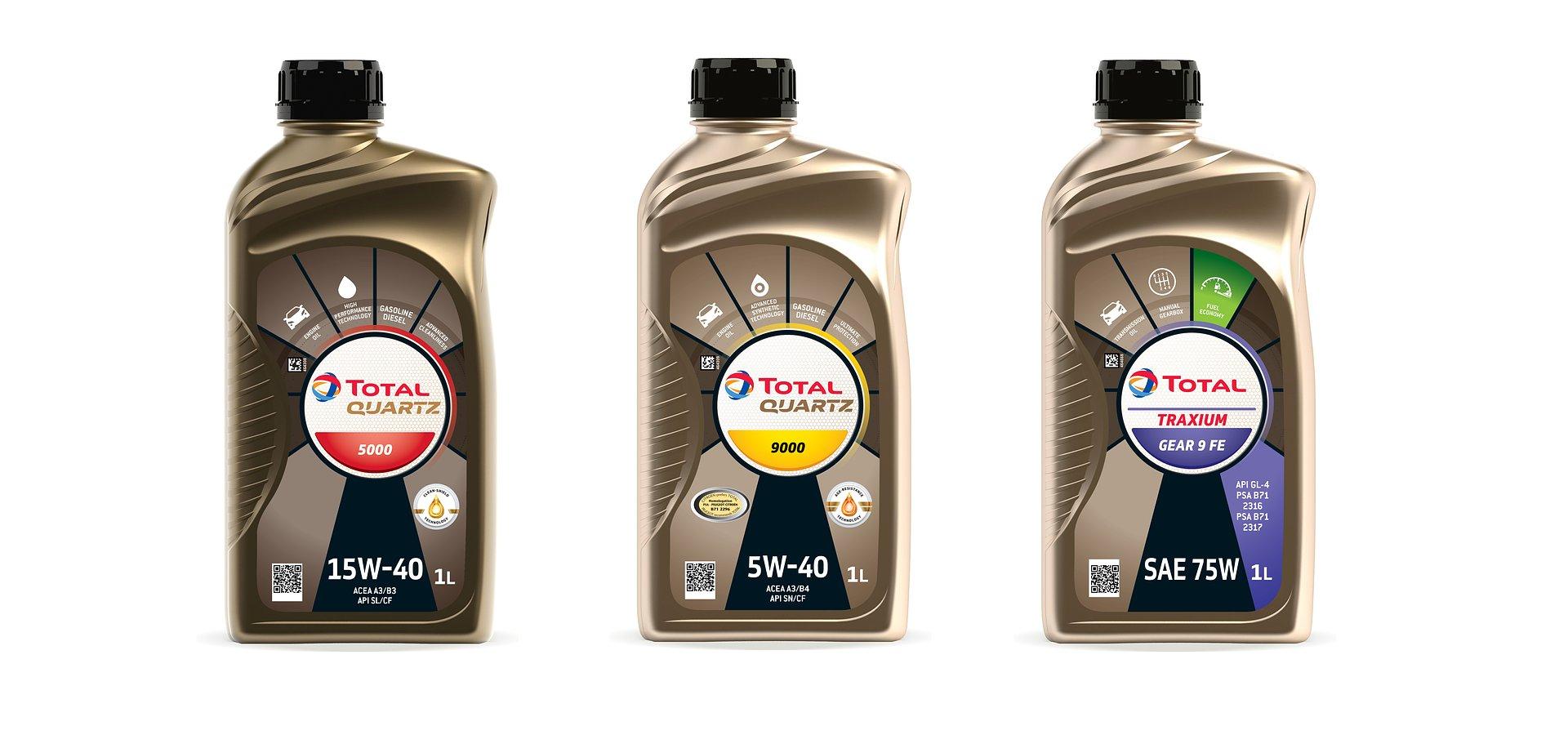 Total Lubrifiants prezentuje nowy design opakowań