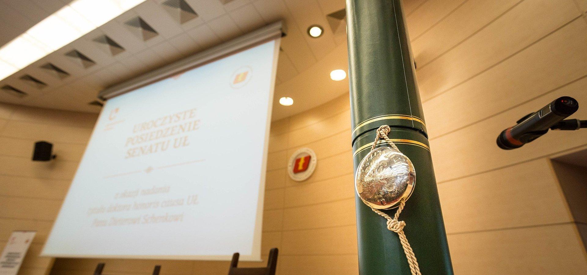 UŁ przyznał tytuł dhc Hermanowi Van Rompuyowi