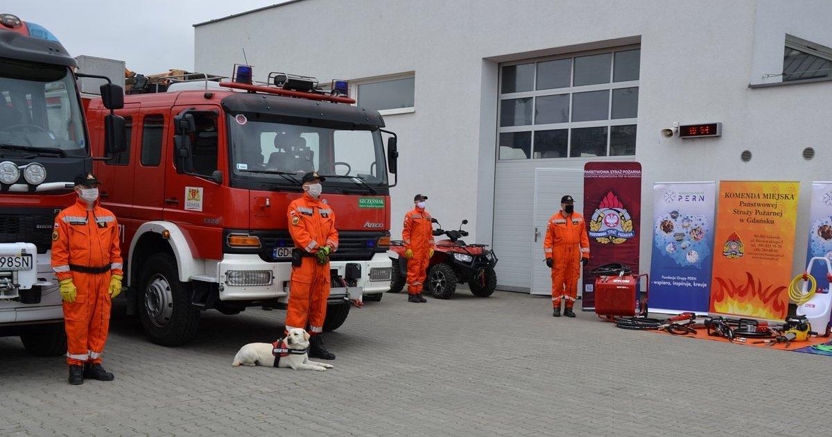Nowy sprzęt dla gdańskiej Specjalistycznej Grupy Poszukiwawczo - Ratowniczej