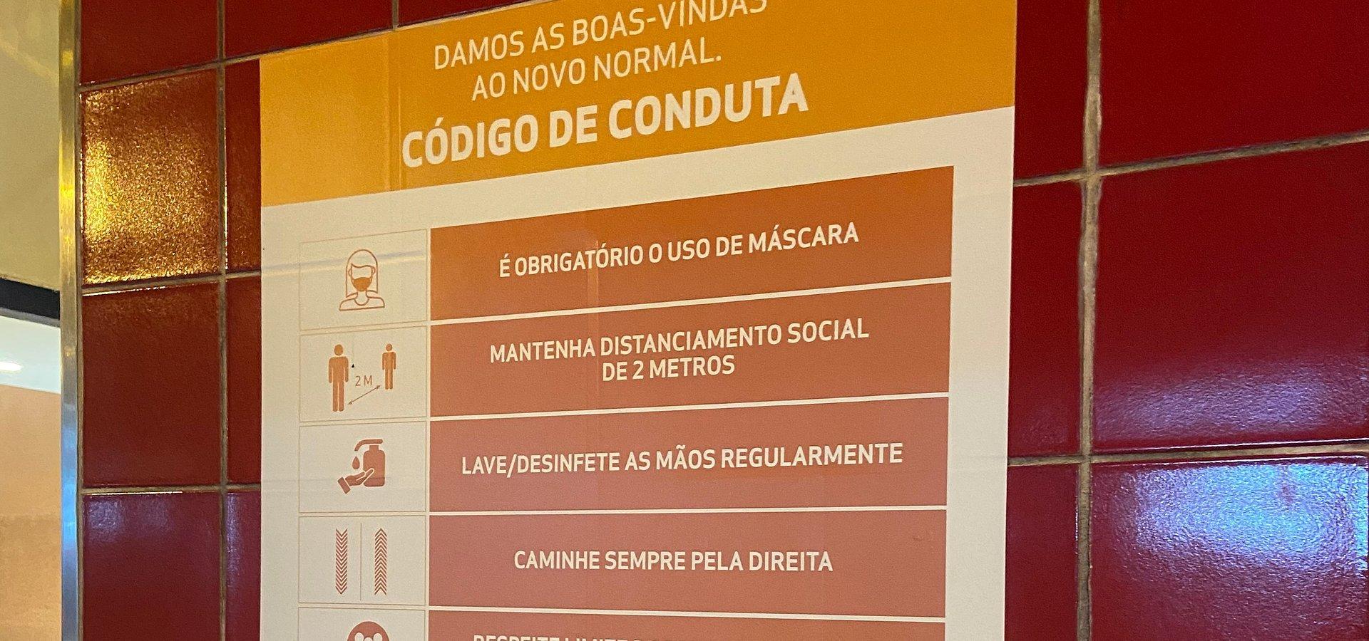 CoimbraShopping implementou medidas adicionais para garantir segurança de visitantes, lojistas, prestadores de serviços e colaboradores