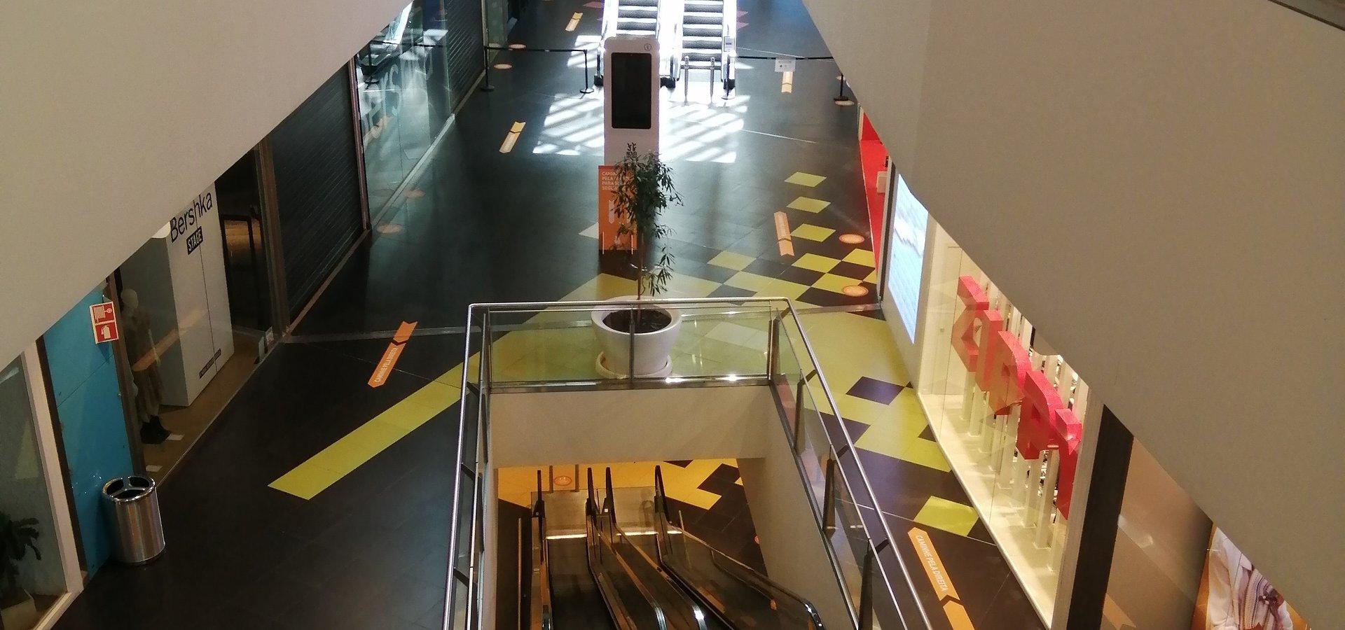 Nova Arcada implementou medidas adicionais para garantir segurança de visitantes, lojistas, prestadores de serviços e colaboradores