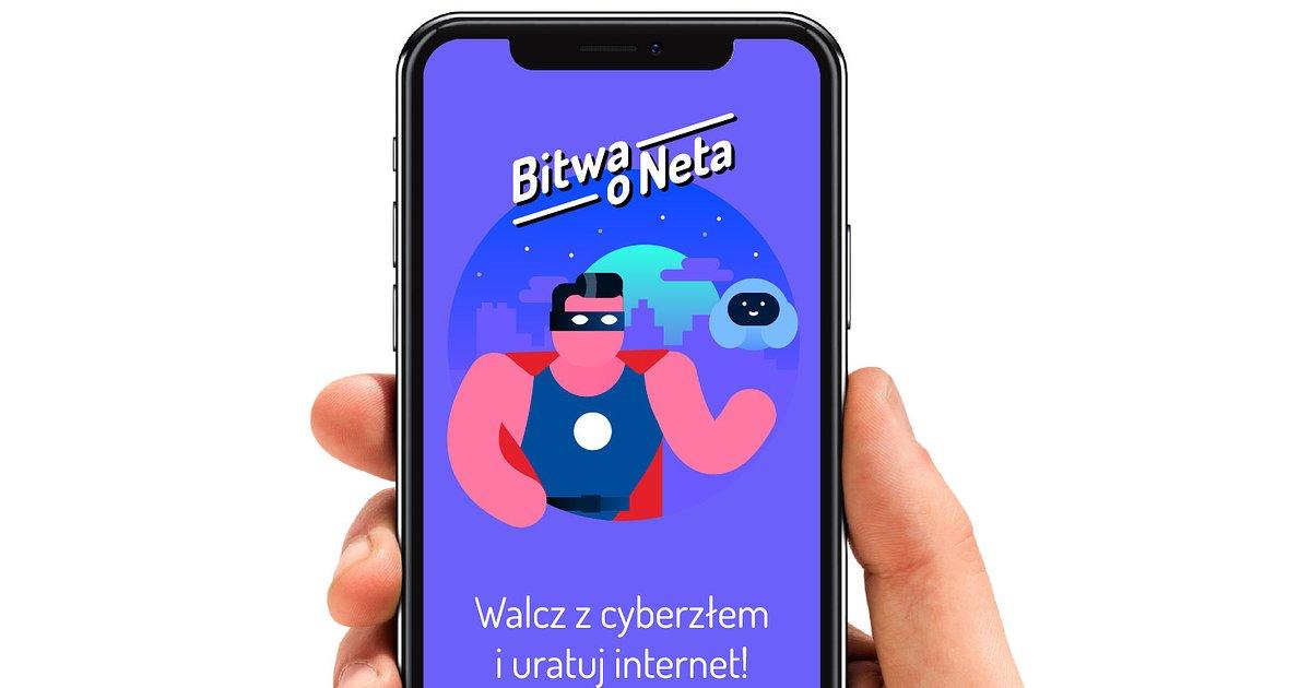 """Gra """"Bitwa o Neta"""" nagrodzona w konkursie IAB MIXX Awards Europe 2020"""