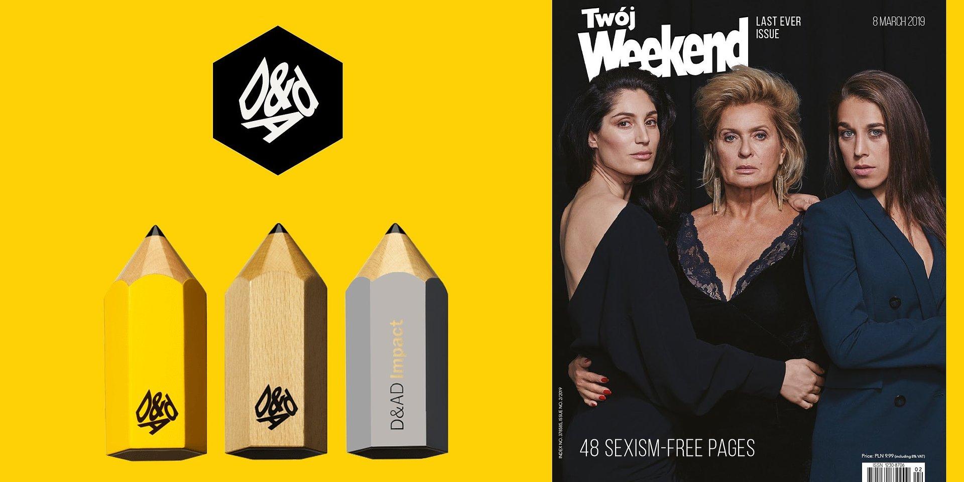 """""""Ostatni Twój Weekend"""" z dwoma ołówkami D&AD 2020"""